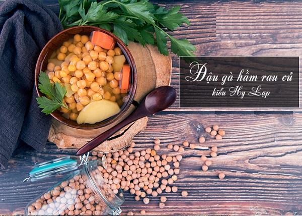 Bạn có thể hầm rau củ cũng rất ngon và bổ dưỡng.